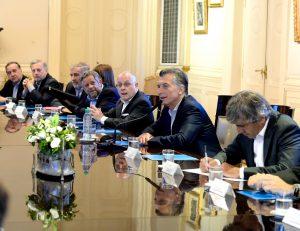 """Macri citó al Papa e instó a sus ministros a """"insistir con la cultura del trabajo"""""""