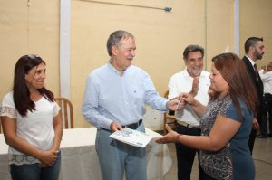 Schiaretti se comprometió a construir el gasoducto de alimentación para Mi Granja