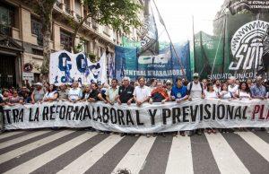 ATE presentó un amparo frente a la inconstitucional Reforma Previsional