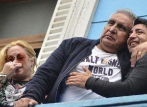 """El hijo del """"Pata"""" Medina contra Moyano y Barrionuevo"""