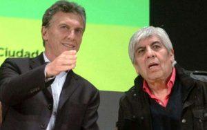 El Gobierno macrista redobla la presión sobre Hugo Moyano