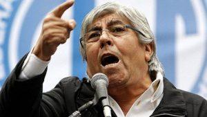 """""""Siempre que pasé por la Justicia fue por denuncias falsas"""", dijo Moyano al contestarle a Macri"""