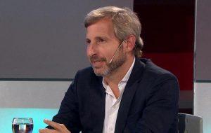 Frigerio: «No hay ninguna posibilidad de una corrida cambiaria»