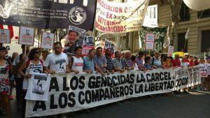 Masiva protesta: veinte mil personas por la libertad de los detenidos del PO