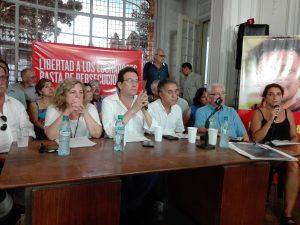 """Denuncian que la causa contra los militantes del PO """"es una farsa para amedrentar al movimiento popular"""""""