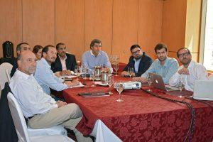 Funcionarios salteños presentaron plan de obras de agua y cloacas a representantes del Fondo Kuwaití