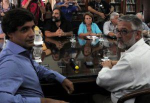 """Lacunza: """"No hay plata para pagarles más a los docentes"""""""