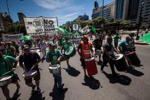 ATE y la CTA-A movilizaron en todo el país en contra del ajuste del Gobierno de Macri
