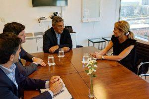 Junto a Cabrera, evaluaron la situación productiva de Salta y trazaron líneas de acción conjunta