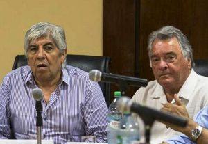 Moyano minimizó las bajas de Barrionuevo y Acuña