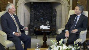 Macri recibe a funcionario de Trump