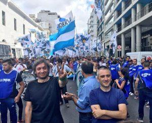 La #Marcha21F en las redes, protagonizada por referentes del kirchnerismo