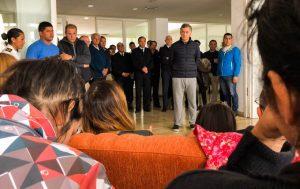 ARA San Juan: Macri recibe en Casa Rosada a familiares de los tripulantes