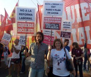 El Frente de Izquierda llamó a movilizarse el #22F contra el ajuste