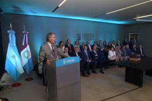 Calvo asumió en la flamante Secretaría de Comunicaciones y Conectividad