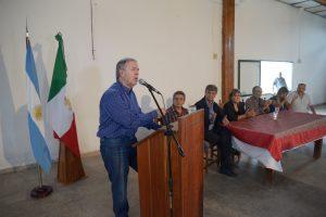 Schiaretti inauguró acueducto y comprometió obra para la llegada del gas natural a San José de las Salinas