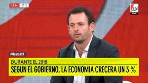 """José Urtubey: """"hay un modelo económico errático"""""""