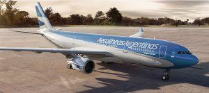En enero, Aerolíneas Argentinas aumentó el caudal de transporte de pasajeros