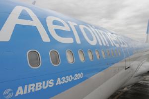 Tres nuevas frecuencias de Aerolíneas Argentinas hacia Madrid
