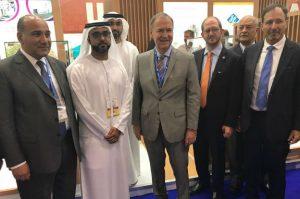 Schiaretti en la mayor exposición en Medio Oriente especializada en la comercialización de alimentos