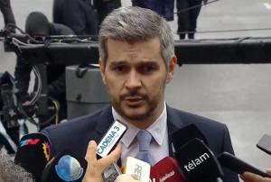 """«Por más que hagan marchas, la justicia no va a parar con las investigaciones"""", afirmó Peña"""