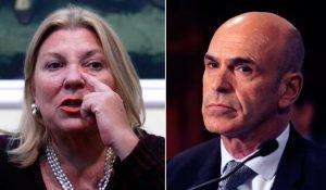 Por acusación a Arribas, Carrió pide investigación judicial