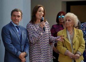 «La memoria no tiene banderías políticas», dijo Vidal, junto a Estela de Carlotto