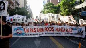 Más de 100 mil manifestantes por las calles de Córdoba por el Día de la Memoria