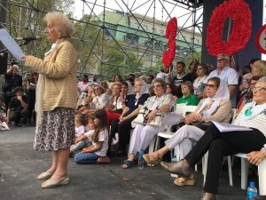 """En multitudinario acto por el #24M ,organismos de DDHH pidieron """"ni un solo genocida suelto"""""""