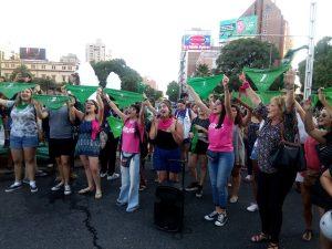 La Izquierda cordobesa desplegó tres acciones a favor de la legalización del aborto