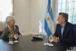 Macri con Lagarde: elogios al Consenso Fiscal y al gradualismo