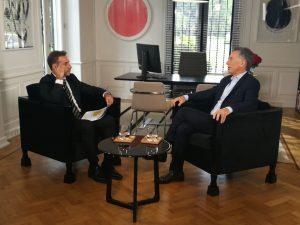 «Si se demuestra que han cometido ilícitos, serán separados», afirmó Macri en alusión a los funcionarios