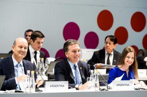"""Dujovne: """"Hace dos años la Argentina estaba en default y hoy presidimos el G20"""""""