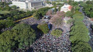 #25M Multitudinaria marcha en defensa de los derechos del niño por nacer