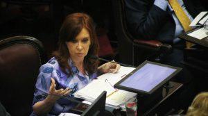 El oficialismo insistirá con el desafuero de Cristina Kirchner