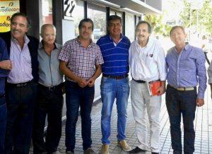 """Junto a Alfonsín, Rossi rechazó el """"dedo"""" de Macri en la designación del candidato a gobernador"""