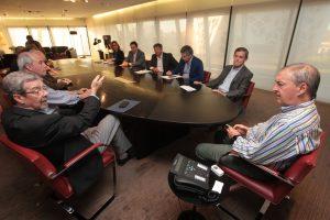 Ante Schiaretti, el G6 expresó su apoyo a las recientes medidas del Ersep