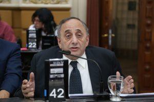 """Unicameral: Nicolás insistió en su rechazo a la resolución del Ersep de """"excluir y limitar"""" a los municipios del cobro de tasas"""