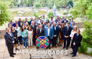 Representantes de Mercociudades acordaron en nuestra ciudad el plan de trabajo 2018