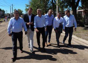 En Marcos Juárez, Frigerio se mostró con quienes quieren disputar la candidatura a gobernador por Cambiemos
