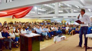 En escenario radical, Mestre se paró como candidato a gobernador y renovó sus críticas al Gobierno de UPC