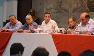 Intendentes radicales renovaron reclamo por fondos no coparticipados por la Provincia, atados a la baja de tasa