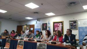La Izquierda junto a trabajadores telefónico rechazaron la fusión Telecom Cablevisión