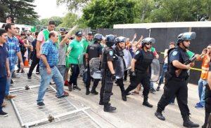 """Por la represión a trabajadores del Inti, Donda cuestionó: """"el Gobierno responde reclamos con palazos"""""""