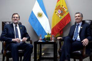 Inversiones y seguridad, dos de los temas de la agenda bilateral de Rajoy y Macri