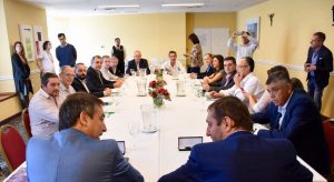 Mestre y otros siete intendentes firmaron con Nación un convenio de planificación metropolitana