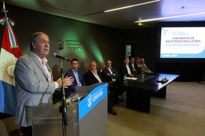 El Gobierno schiarettista presentó los lineamientos del nuevo marco regulatorio eléctrico