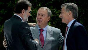 Junto a Macri, Schiaretti valoró el financiamiento español para obras en Córdoba