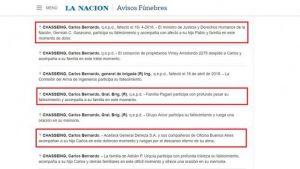 Repudio de asociación por los DDHH de CBA a las condolencias de Garavano  por la muerte de colaborador de Menéndez