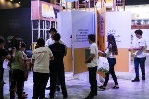 Cómo es el libro gigante con formato 360° que está en la Feria del Libro